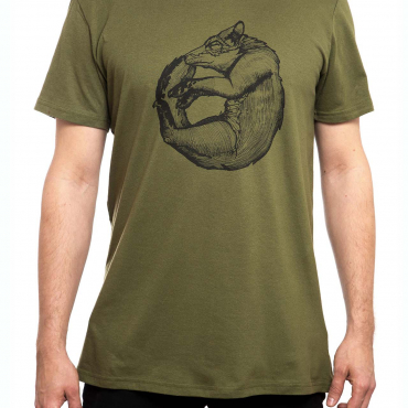 T-Shirt | MP Fox | men | olive