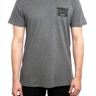 T-Shirt | MP Racoon | men | dark heather grey