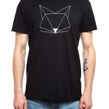 T-Shirt | Fuchs | men | schwarz