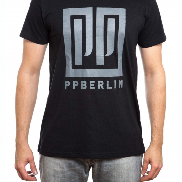 T-Shirt | PP-Logo | men | schwarz