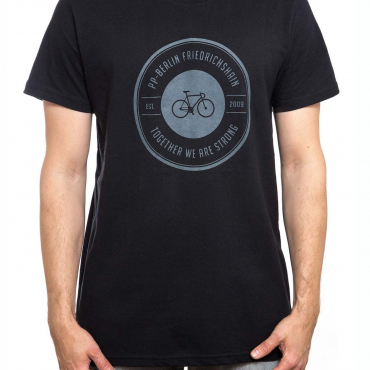 T-Shirt | strong bike | men | schwarz