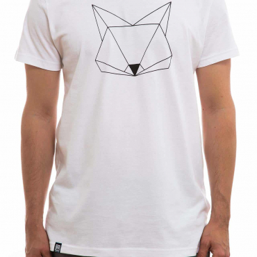 T-Shirt | Fuchs | men | weiß