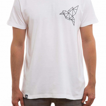 T-Shirt | Bird klein | men | weiß