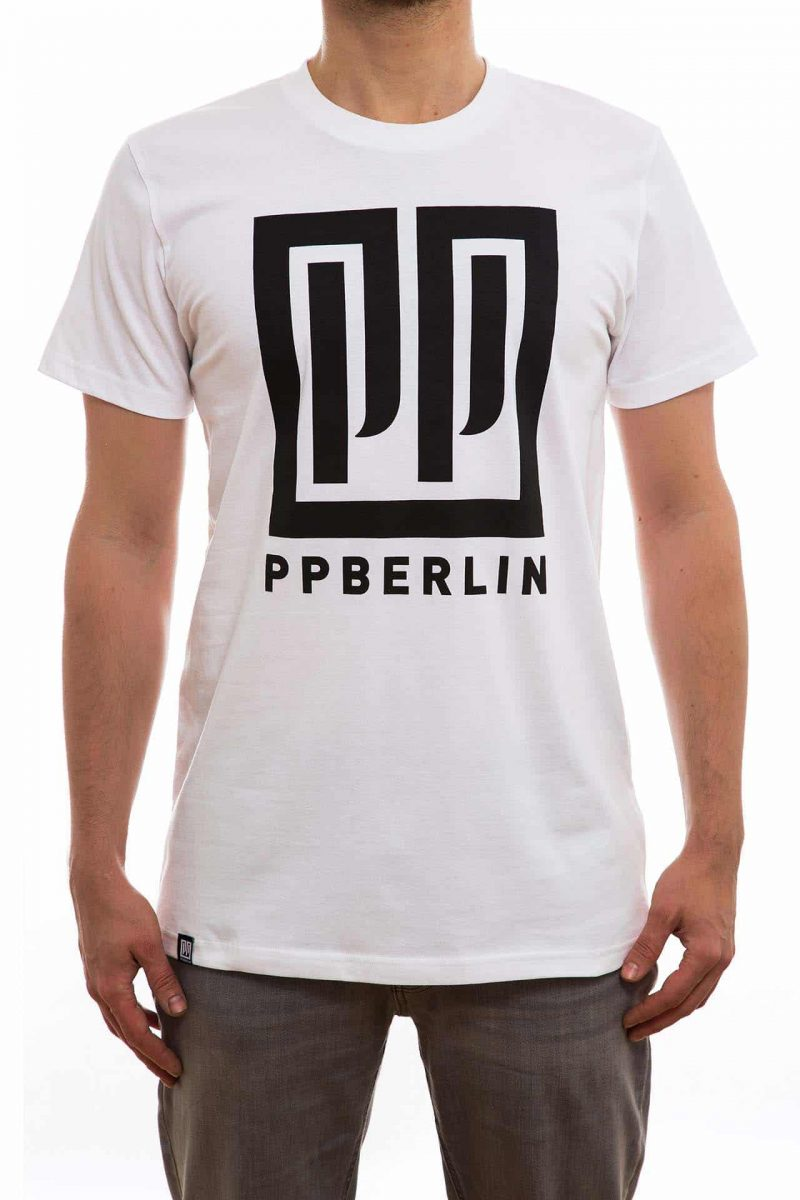 T-Shirt | PP-Logo | men | weiß