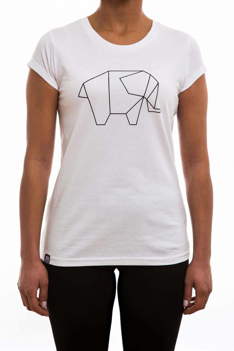 T-Shirt | Elefant | women | weiß