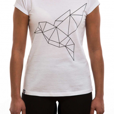 T-Shirt | Bird | women | weiß