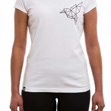 T-Shirt | Bird klein | women | weiß